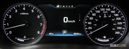 2015 Hyundai Genesis 5.0 Ultimate instrument cluster