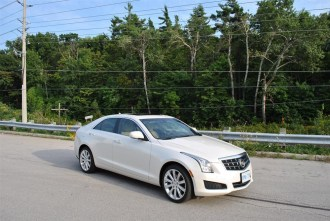 Second Look: 2014 Cadillac ATS 3.6 front 1/4
