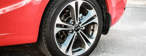 2014 Kia Forte Koup wheel