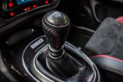 2014 Nissan Juke Nismo RS shifter