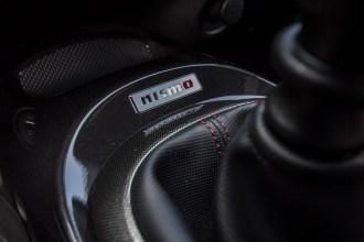 2014 Nissan Juke Nismo RS shift boot badge
