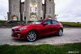 2015 Mazda3 Sport GT front 1/4