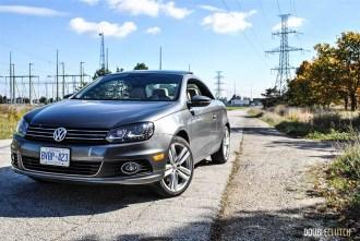 2014 Volkswagen Eos Highline front 1/4