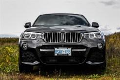 2015 BMW X4 xDrive35i front