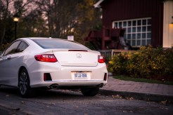 Second Look: 2014 Honda Accord Coupe V6 rear