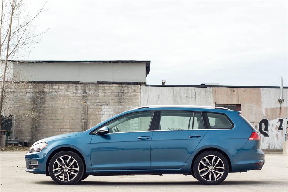 2015 Volkswagen Golf Sportwagon Tdi Review