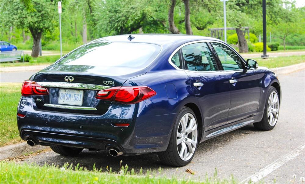 Fantastic 2015 Infiniti Q70L AWD Review