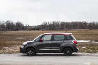 2016 Fiat 500L Trekking Urbana car review