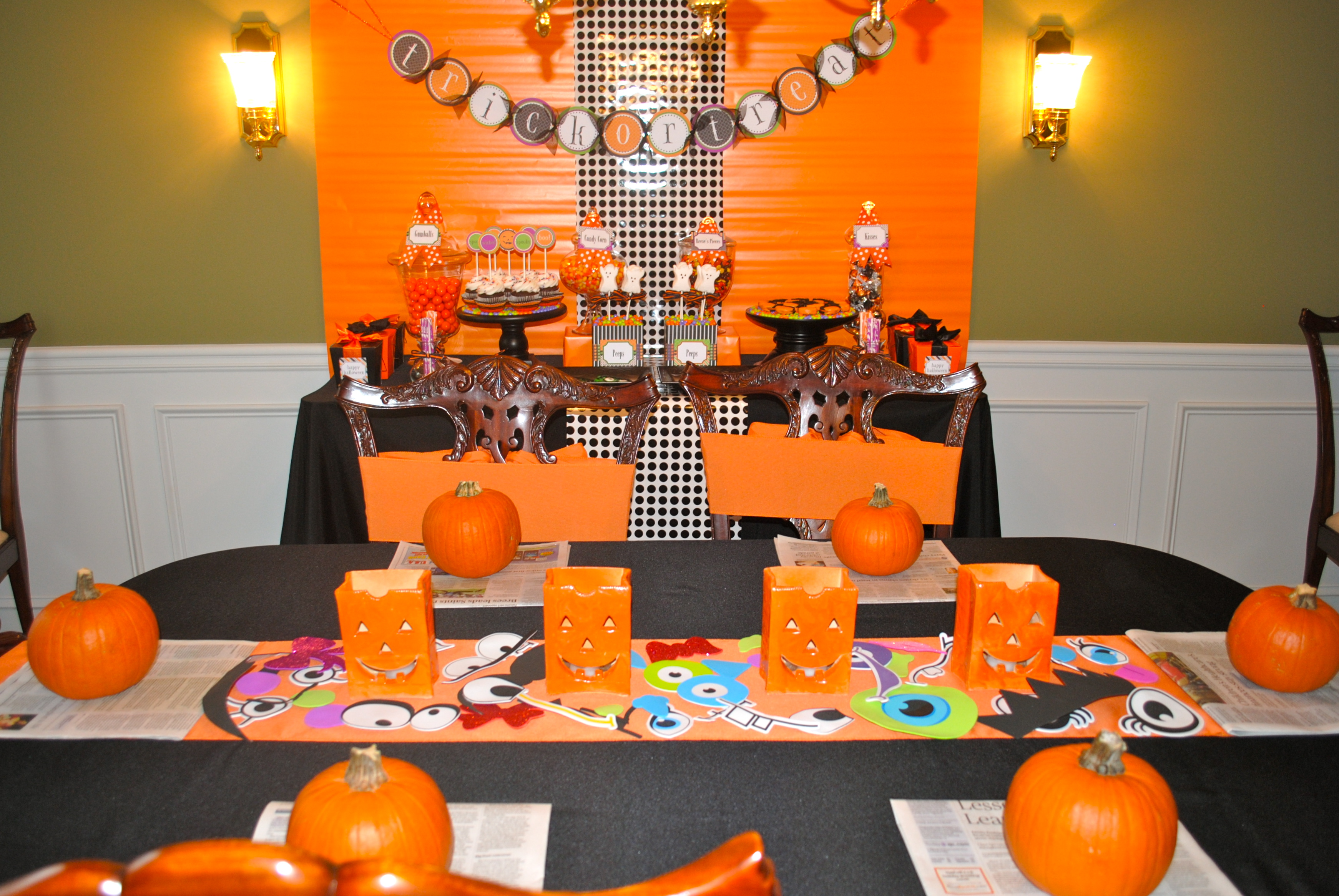 Halloween Party Decoration Ideas For Kids