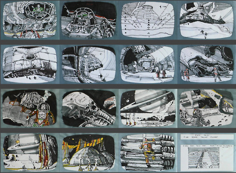 alien-ridleygramjpg (478×350) Sketches Sublime Pinterest - film storyboards