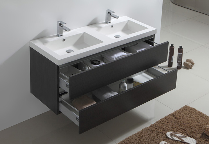 Meuble Sdb Double Vasque 120 Meuble Salle De Bain City 120 - Collection Meuble Design