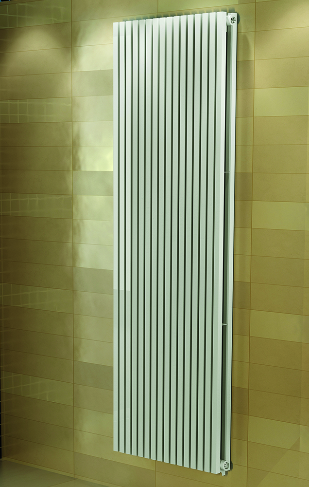 Designradiator Badkamer Badkamer Designradiator Carpe Wit (ral 9016) - Douchecabine.nl