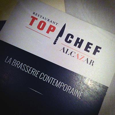 Top Chef restaurant Alcazar Paris 6