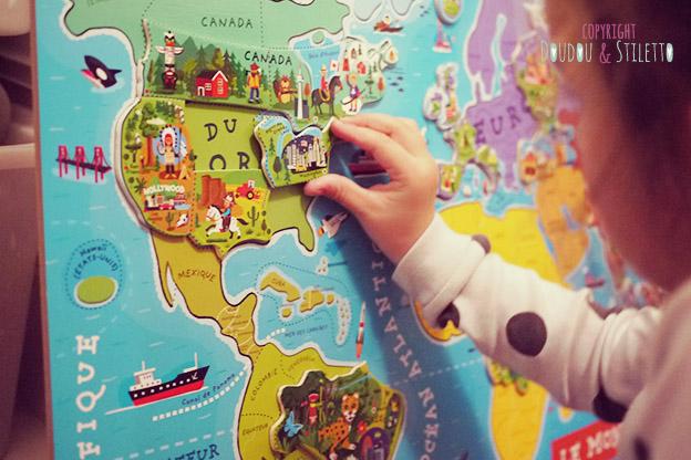 Carte Europe Janod.A La Decouverte Du Monde Avec Janod Doudou Stiletto