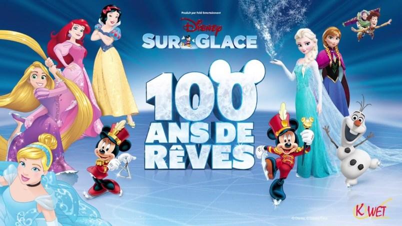 Disney sur glace 100 ans de rêve