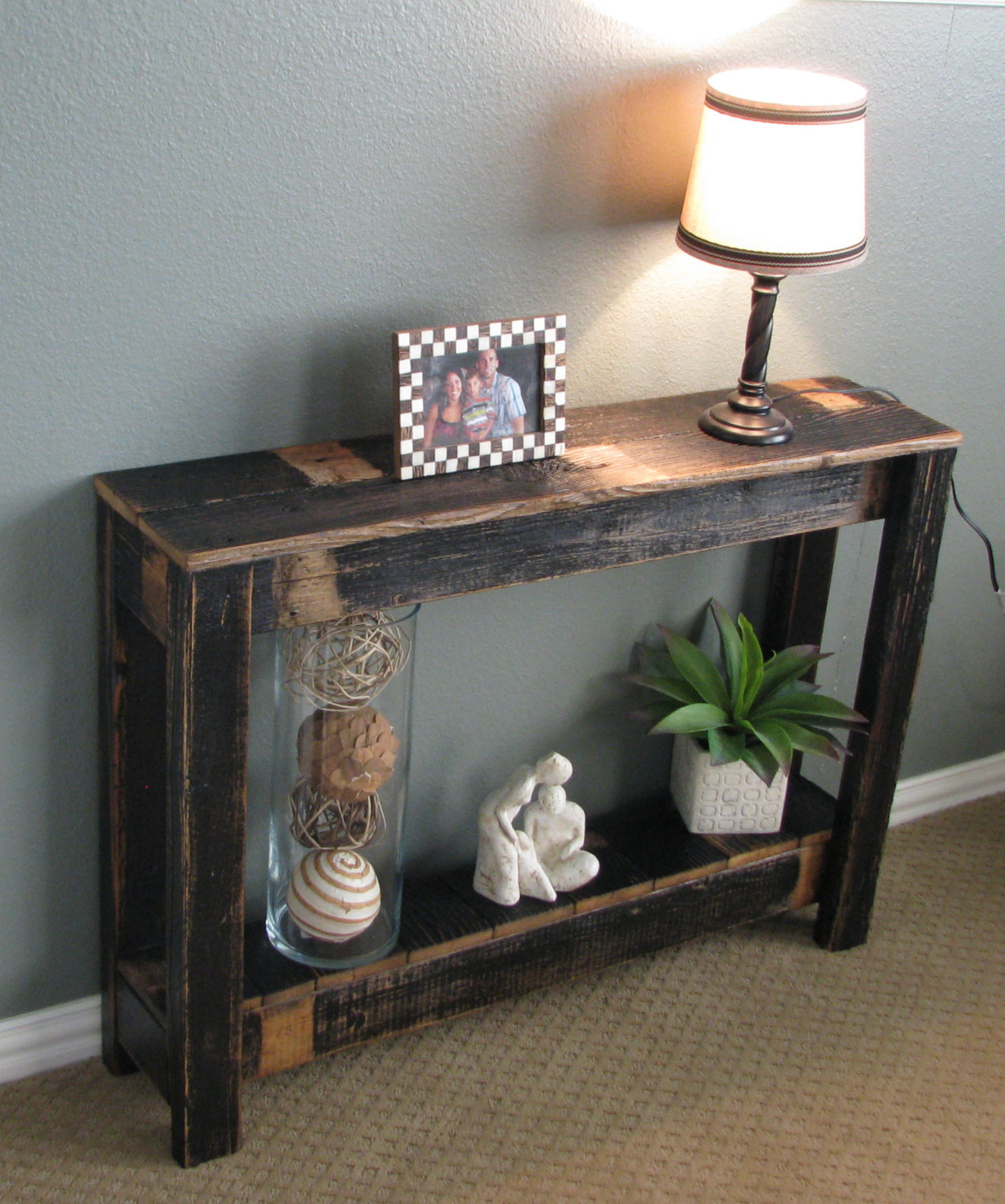 Farmhouse Console Table Farmhouse Sofa Table Farmhouse Buffet Or Sofa Table Wood