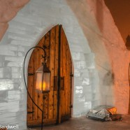 One cool night at the Quebec Ice Hotel