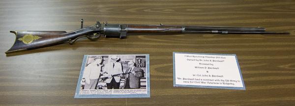 Dr. JS Bardwell's deer rifle