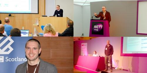 Doug Belshaw presenting