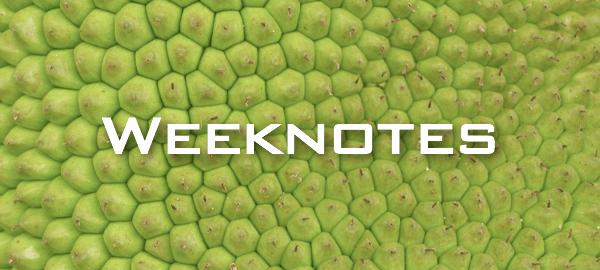 Weeknote 14/2013