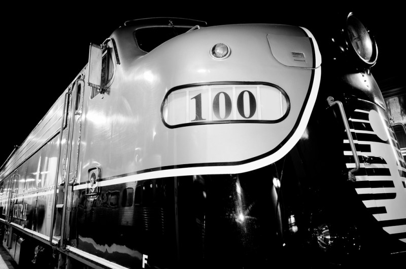 IC 100 at Chicago Union Station