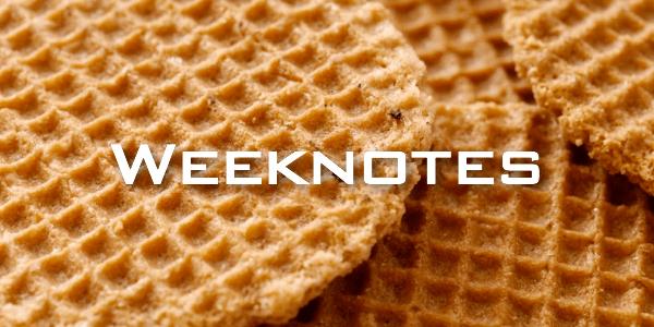 Weeknote 40/2013
