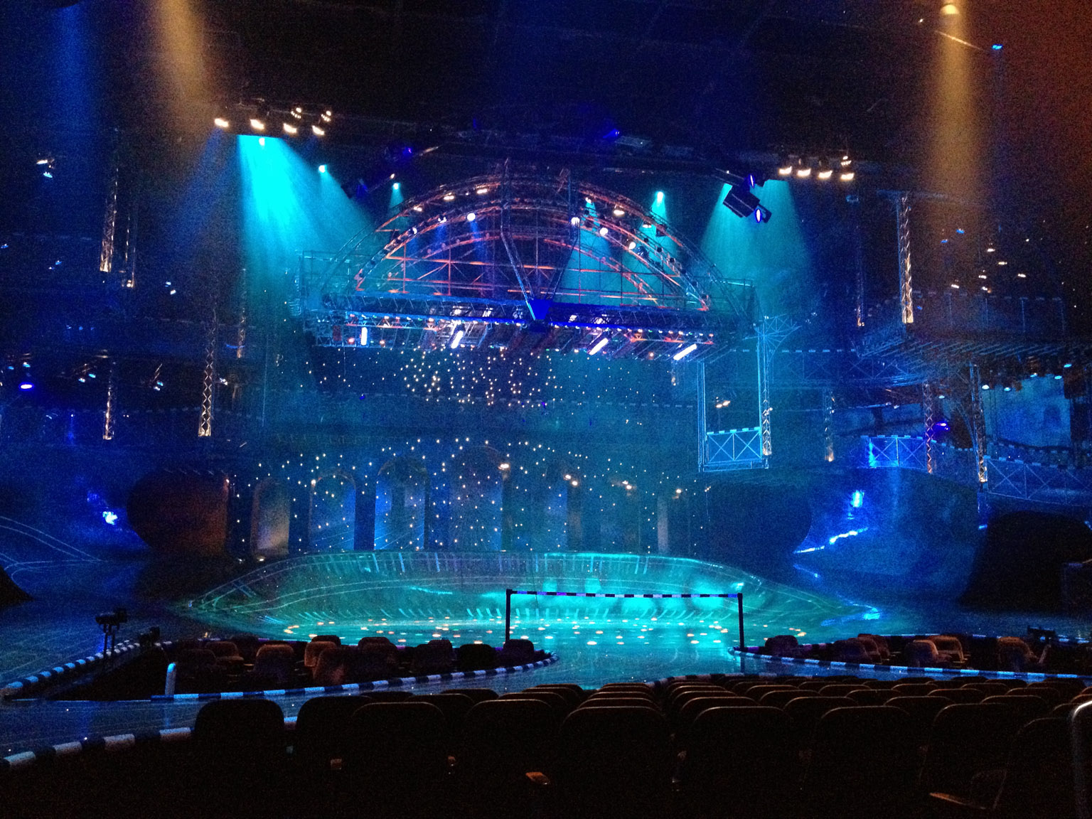Starlight Express Panorama Sessel Germany And Luxembourg September October 2012 Douglas
