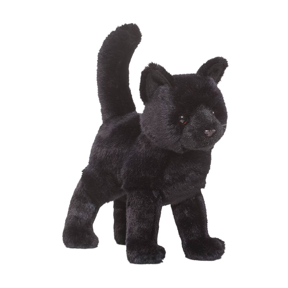 Cat Plush Toy Midnight Black Cat