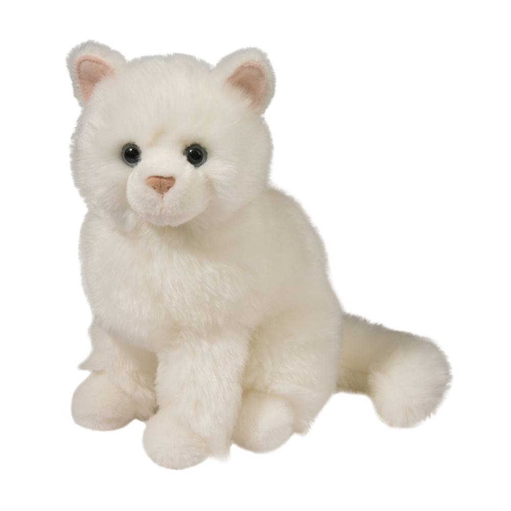 Cat Plush Toy Snowball White Cat