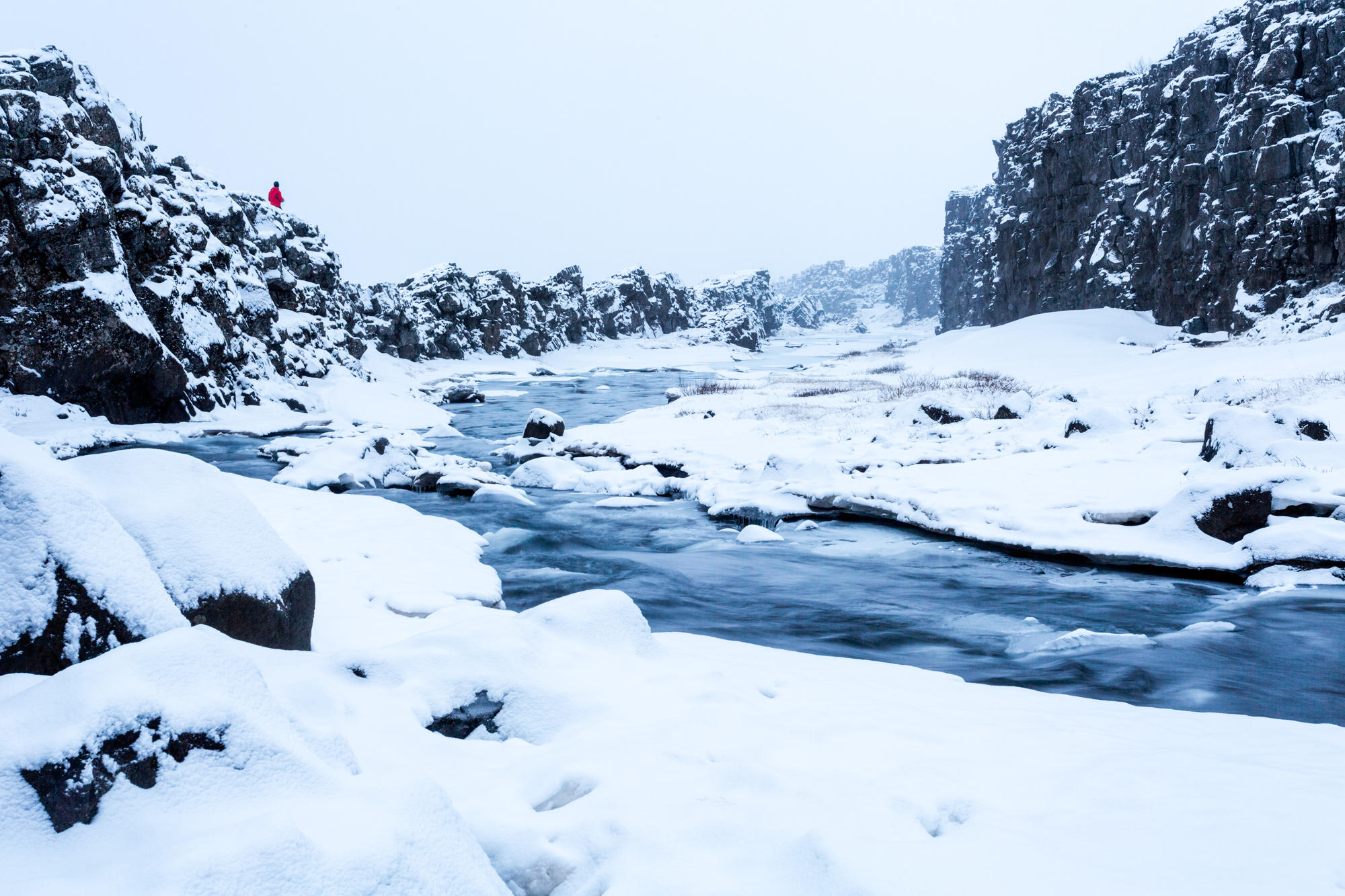 Thingvellir-Summer vs. Winter