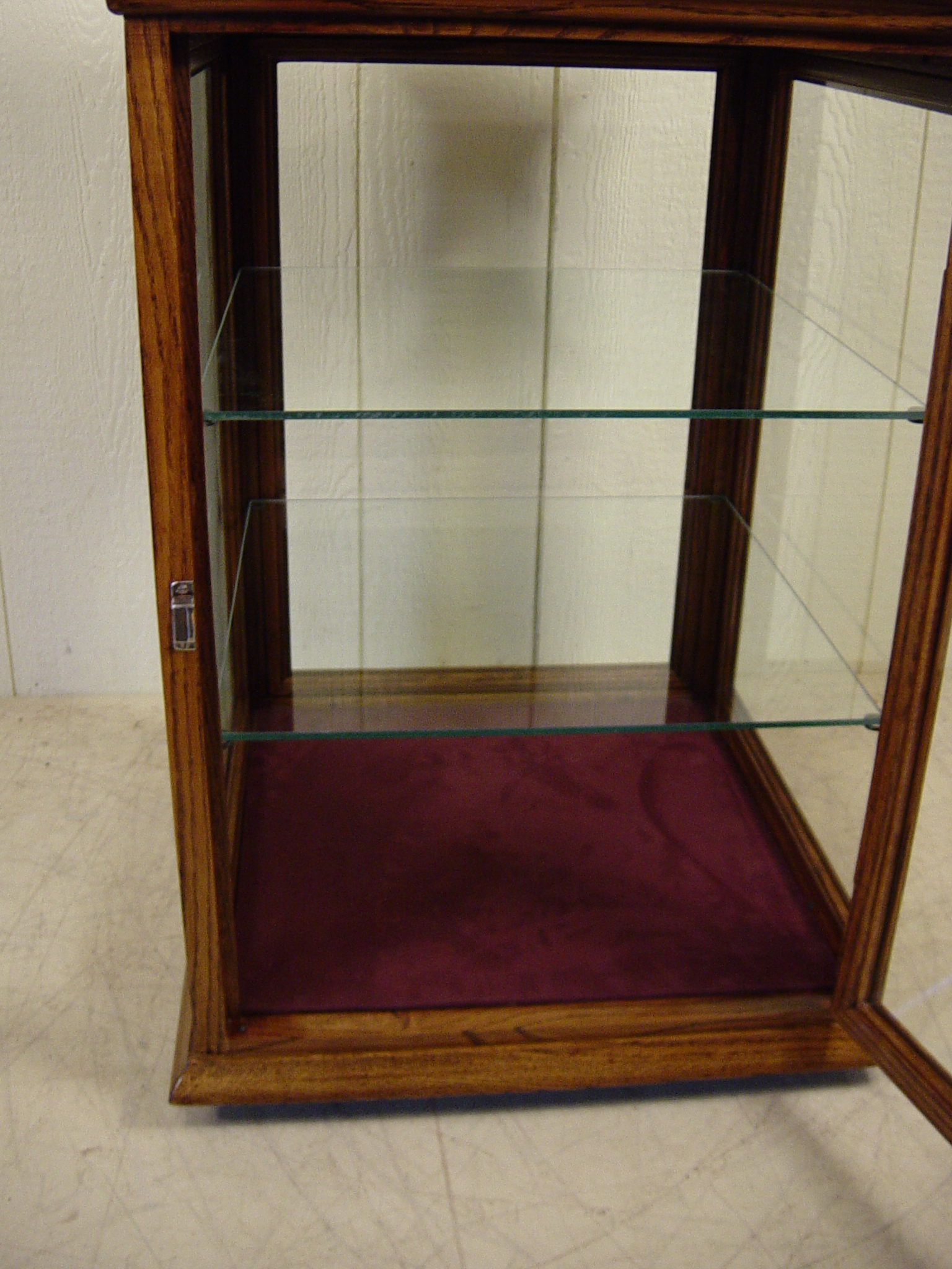 Glass Cabinet Revolving Display Cabinet