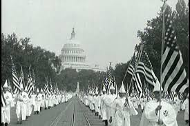 There was a time when it took political courage to stand up to the Klan.