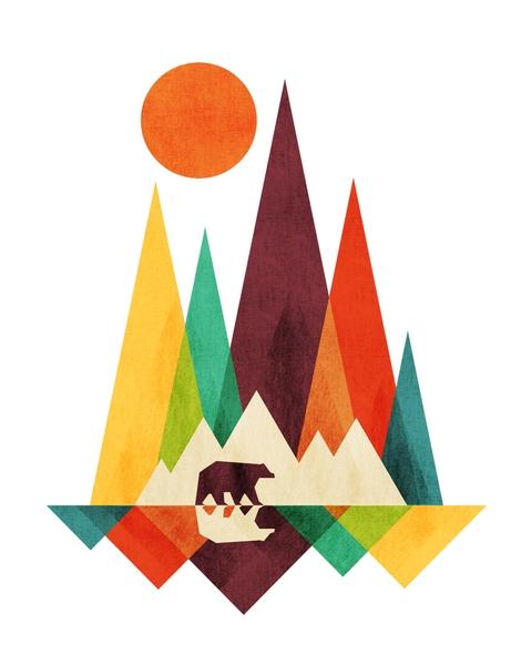 Geometric t-shirt designs by artists worldwide