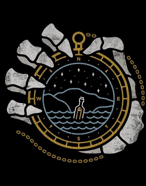 Compass t-shirt designs by artists worldwide