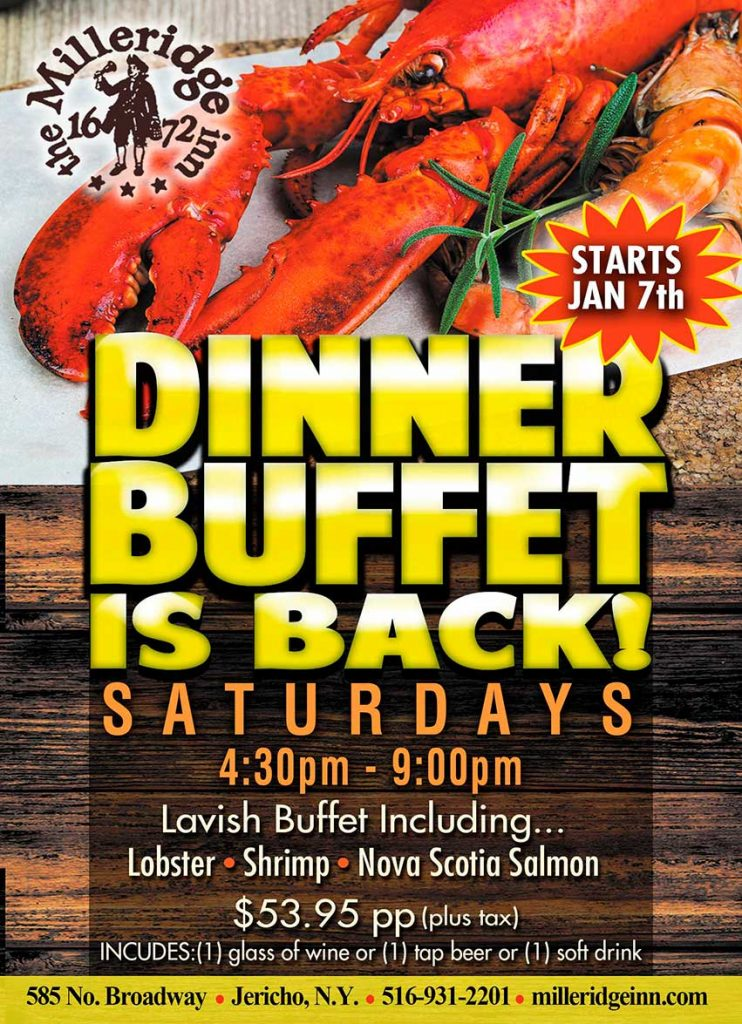 Dinner-Buffet-Flyer \u2013 The Dover Group - Dinner Flyer