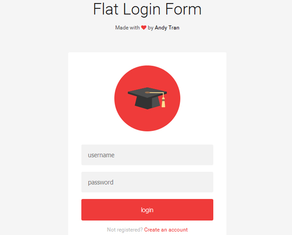 40 Powerful Free CSS3 HTML5 Login Form Templates - DoveThemes