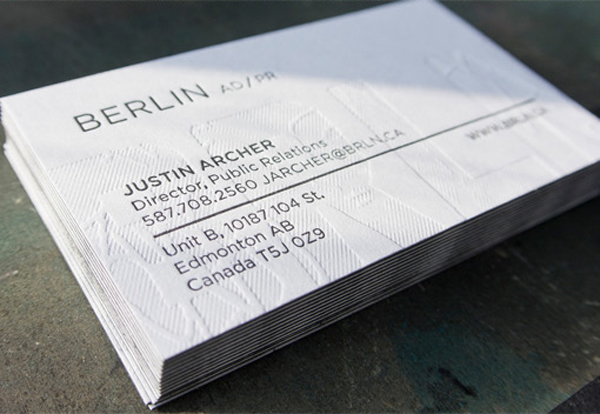 15 Best Textured Business Card Designs 2016 DoveThemes