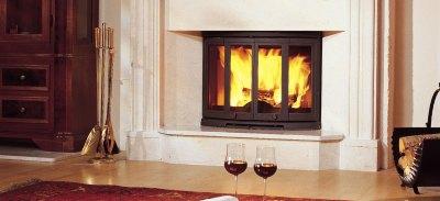 Dovre 2700 Wood Burning Fireplace
