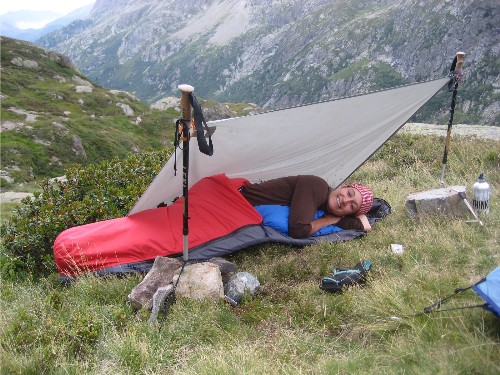 Bliss or Bliss-less in a Bivouac Sack? DOWN and OUT - sac shelter