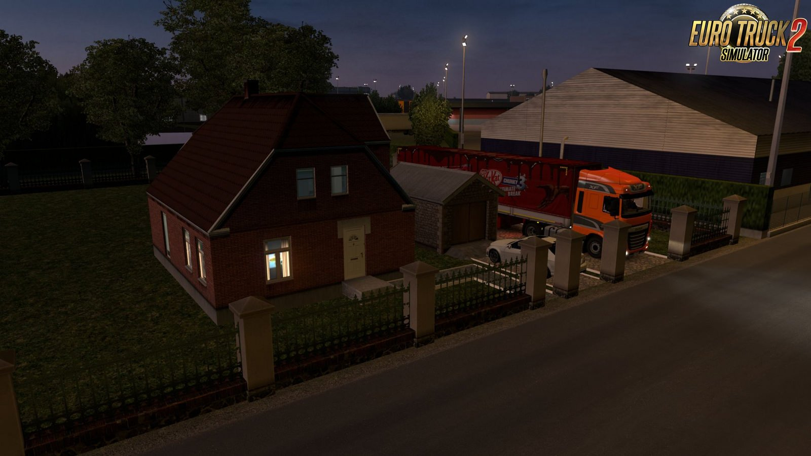 Sweet Home Paris Sweet Home In Paris For Ets2 » Download Ets 2 Mods | Truck