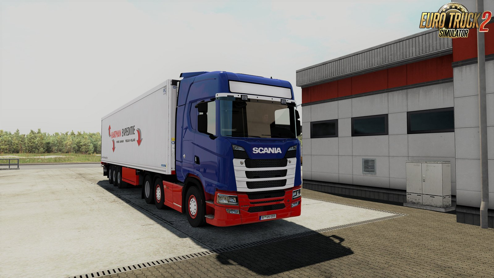 Eurobox Nextgen Portable 43 32 Scania Nextgen R And S Custom Headlights For Ets2 Ets2