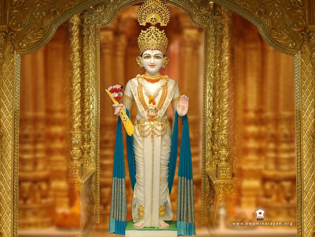 Baps Ghanshyam Maharaj Hd Wallpaper Download Baps Web Site S Wallpapers In Bitmap Format