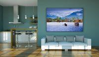 Living Room Wall Frame Mockup Free PSD | Download Mockup