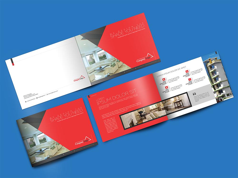 Landscape Brochure Mockup PSD Download Mockup