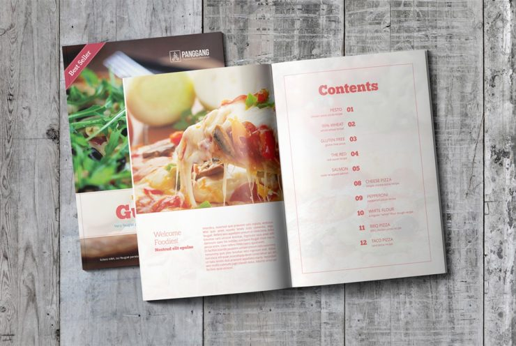 Recipe Book Template Free Download