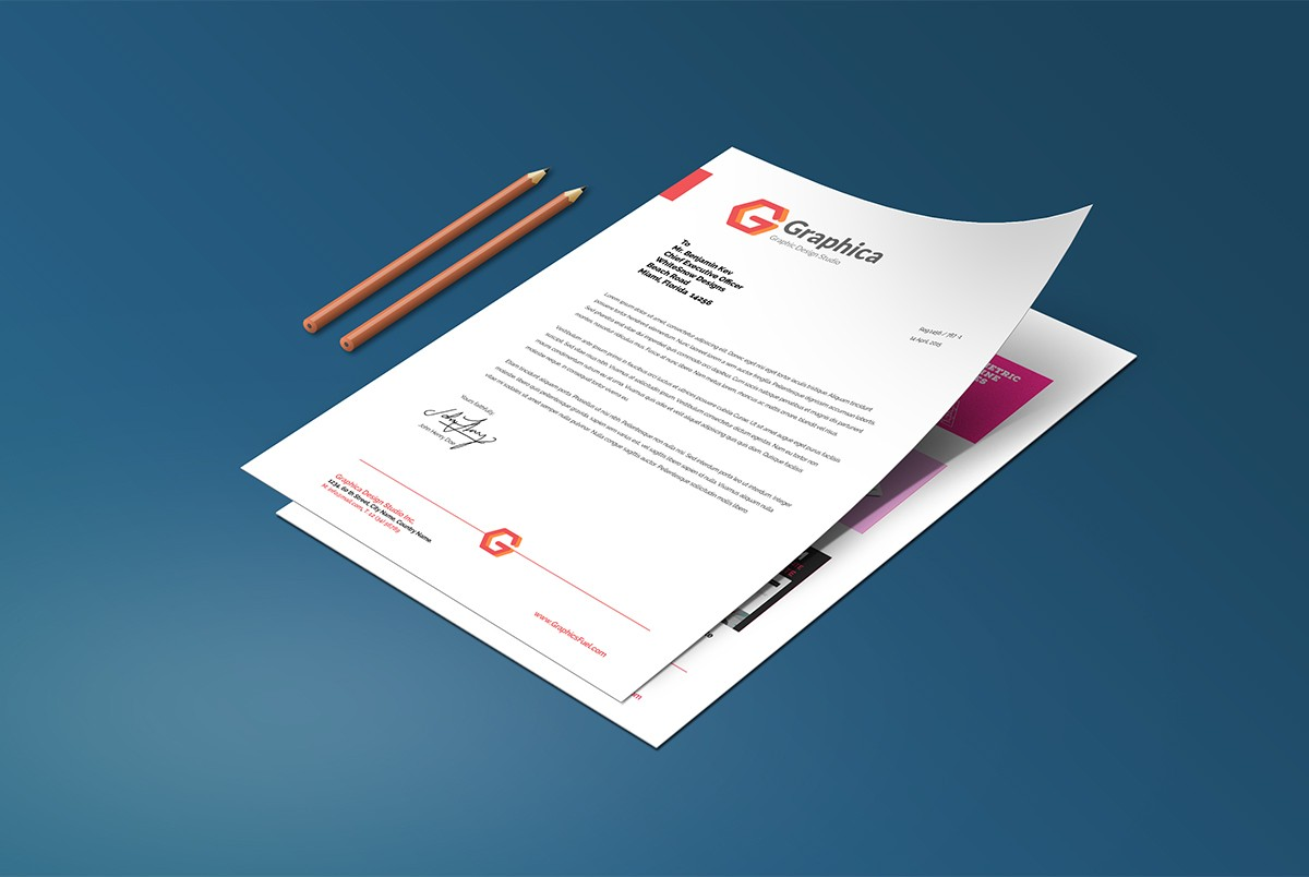 Mockup Report Psd Resume And Cover Letter Mockup Template Psd - Download Psd