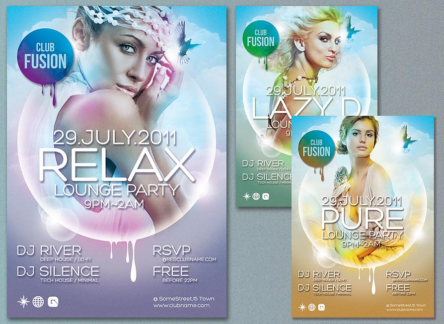 Elegant Colorful Flyer Design Psd Download Download Psd