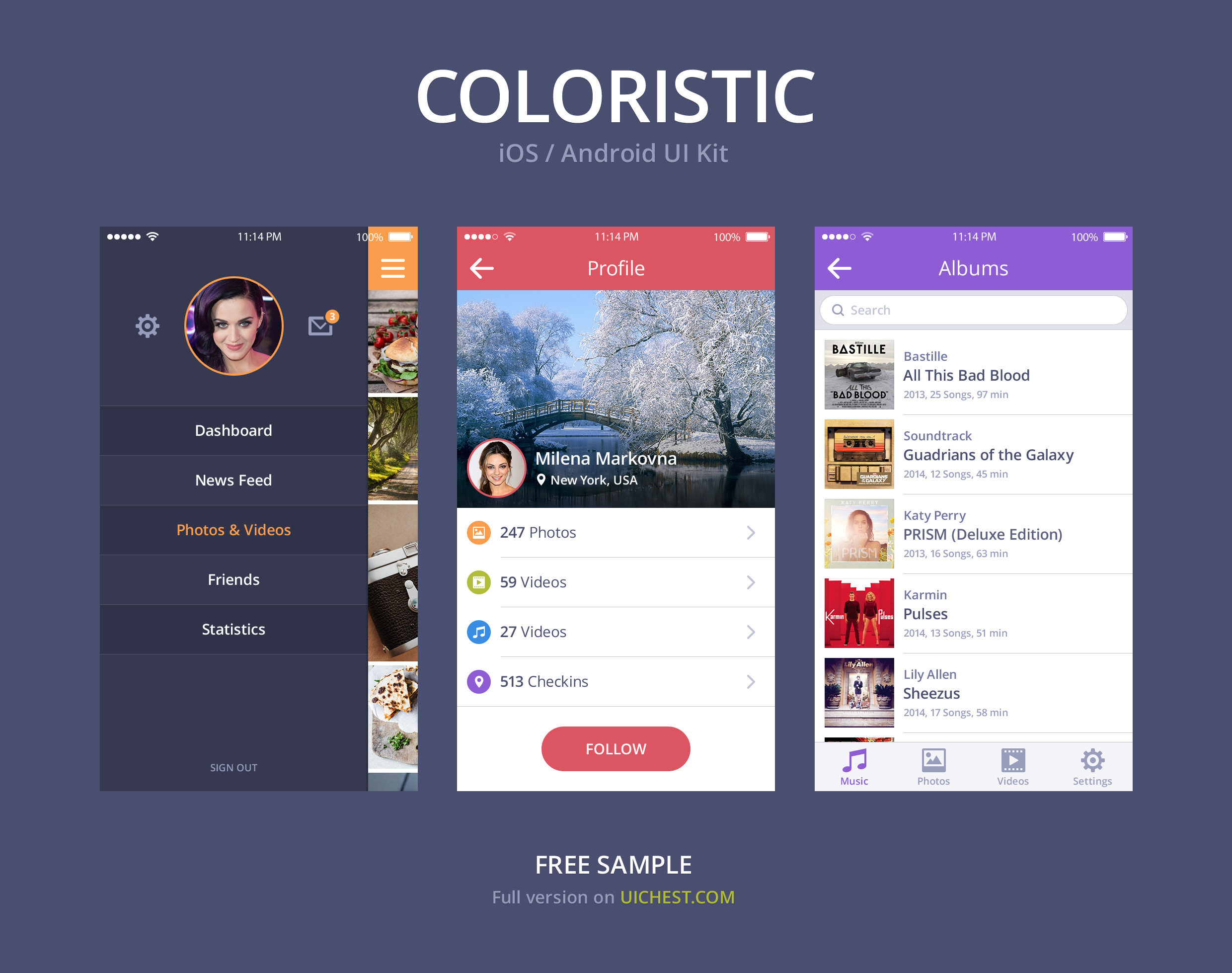 Resume Templates Android Apps On Google Play Simple Colorful Ios Android Ui Kit Psd Download Download Psd