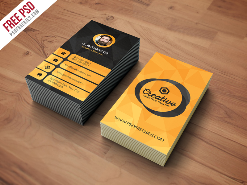 Agency Business Card Template Free PSD Download - Download PSD - web designer business card