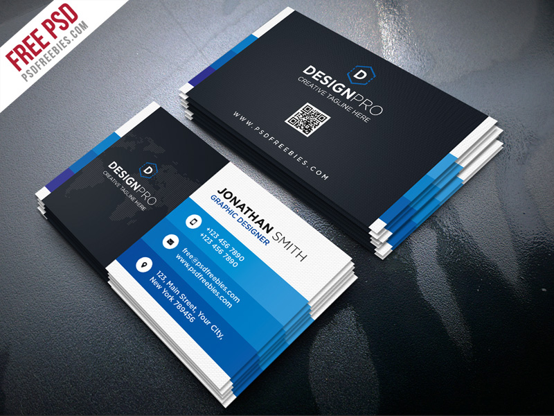 Creative and Modern Business Card PSD Bundle Download - Download PSD - web designer business card